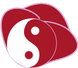 Yin Yang in Rose Logo